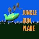 plane run jungle icon