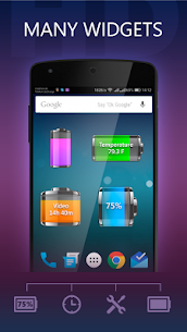 Battery HD Pro MOD (Unlocked, Full Paid) 4