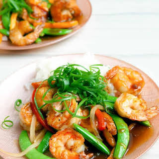 Shrimp Teriyaki Stir Fry.