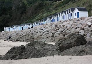Photo: beach at Carteret France