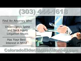 Video: Colorado Spine Injury Attorney | William Meyer