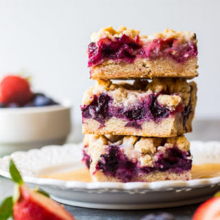 Berry Crumb Bars.