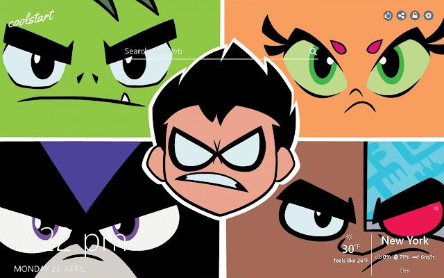 Teen Titans HD Wallpapers Anime New Tab Theme