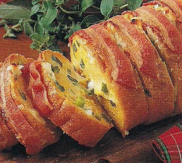 Bacon Swiss Bread