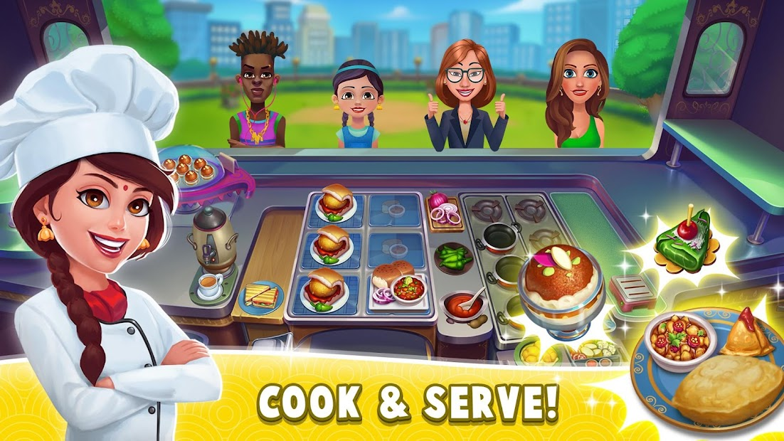 Masala Madness: Cooking Game Android App Screenshot