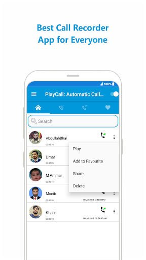 Call Recorder Automatic 18.1.1.3 screenshots 2