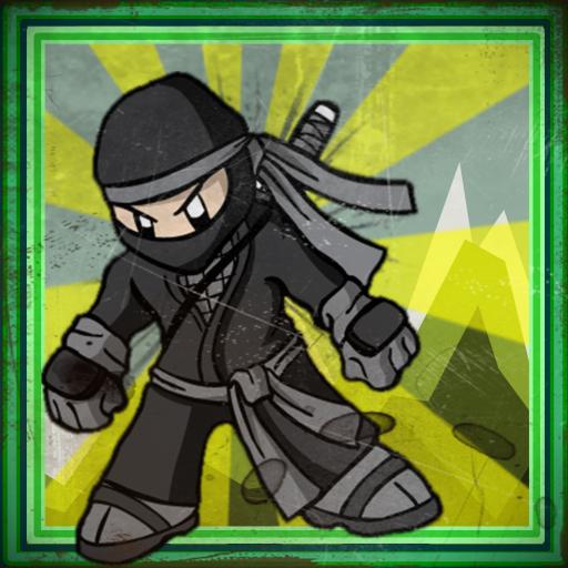 Black ninja club running