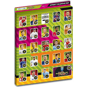 Adventskalender 1 st Nordic Edition Panini Adrenalyn XL FIFA 365 2020-2021