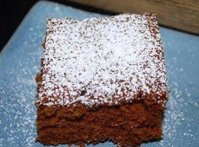 Soft Ginger Cake Recipe