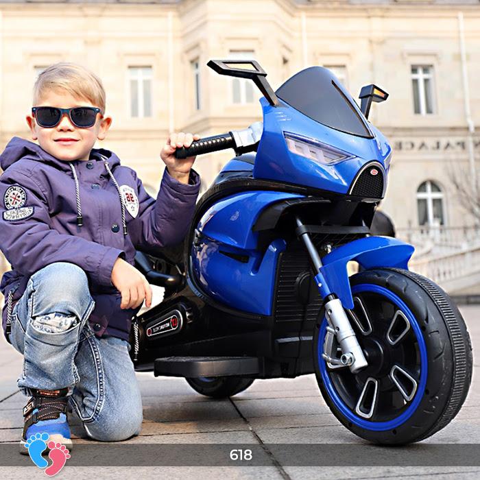 Xe mô tô điện cho bé điều khiển tay ga LT-618 4