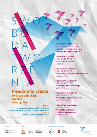 Swoboda tworzenia | Freedom to create | nauczyciele