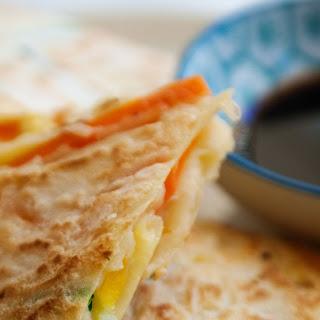 Veggie Packed Korean Style Pancakes Recipe