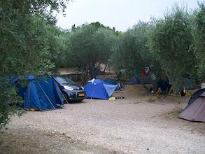 Photo: 25e Dag, zondag 9 augustus 2009 Florance (rustdag) Temp. maximum: 37 graden, Wind: Bfr, Windrichting: Weerbeeld: warm, zonnig Dag afstand: 15,5 km Tijd: 2:00:38 uur, Gemiddelde: 7,7 km Totaal gereden: 1809 km .Camping bij Forance.