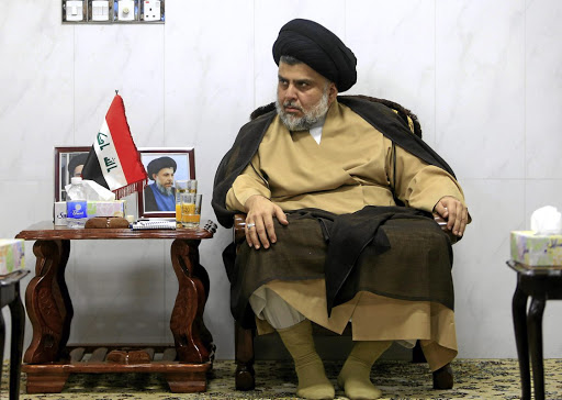 Voice of reason: Moqtada al-Sadr has called on Iraqis to show unity rather than squabble over a possible rerun of the election. Picture: REUTERS