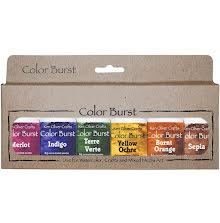 Ken Oliver Color Burst Powder 6/Pkg - Earth Tones