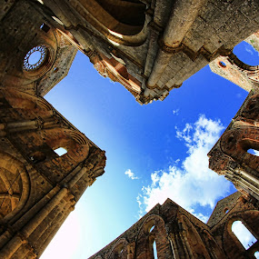san galgano by Marco Caciolli - Buildings & Architecture Statues & Monuments ( cattedrale, hdr, chiesa, san galgano, siena )