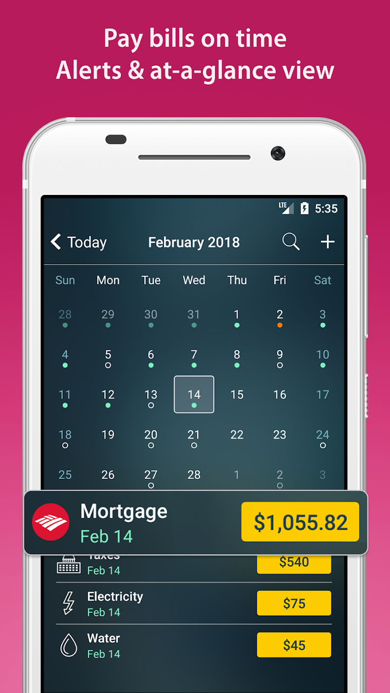 Money Pro - Personal Finance & Expense Tracker Screenshot 2