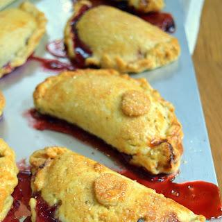 Cherry and Mascarpone Pasties Recipe