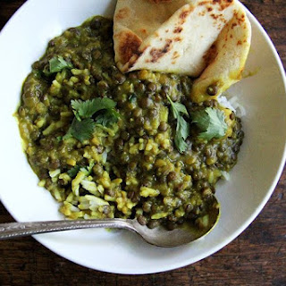 Curried Lentils with Coconut Milk
