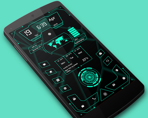 High Style Launcher 2019 - Theme, Hi-tech 9.0 androidtablet.us 1