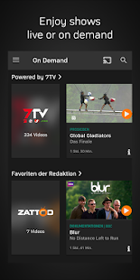 Zattoo - TV Streaming: miniatura de captura de pantalla