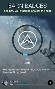 SNOCRU Ski Tracking App screenshot 1