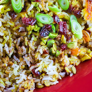 Persian Rice Dried Fruit Recipes