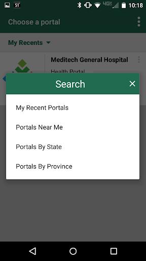 MEDITECH MHealth 1.8.0 screenshots 1