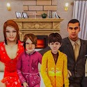 Real Mother Life Simulator 3D - Happy Family Games icon