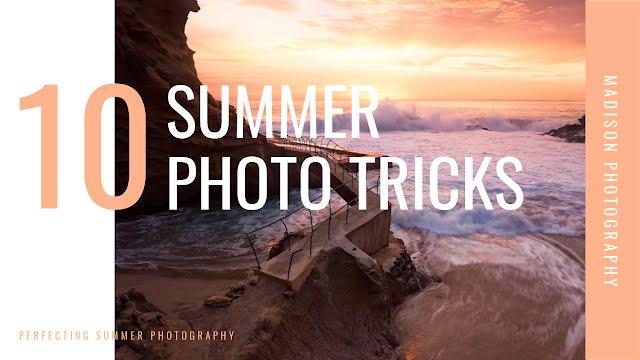 Summer Photo Tricks - YouTube Thumbnail Template