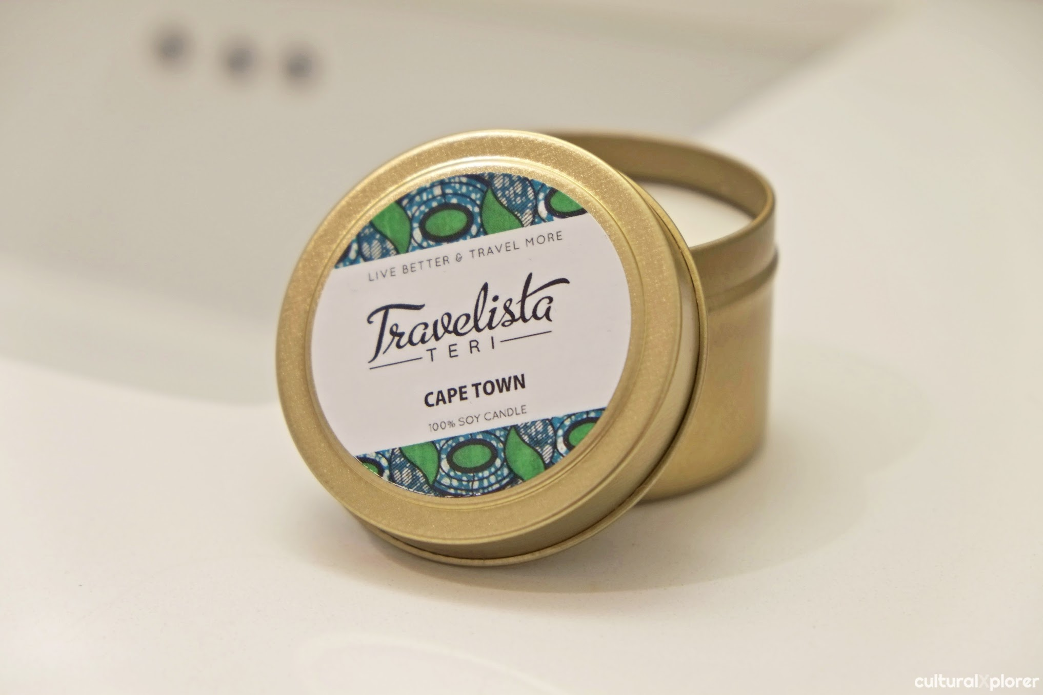 Travelista Teri Cape Town candle