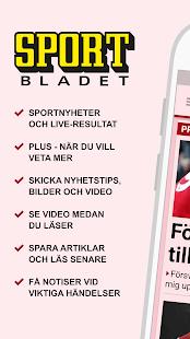Sportbladet - náhled