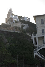 Photo: Great staircase in the stone cliff