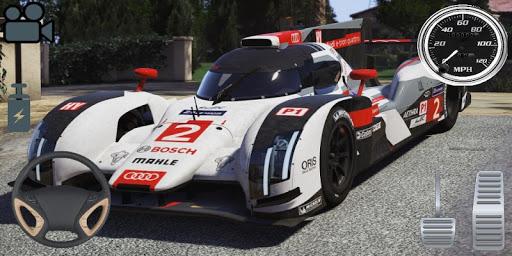 Driving Audi E-Tron GT Car Simulator screenshots 4