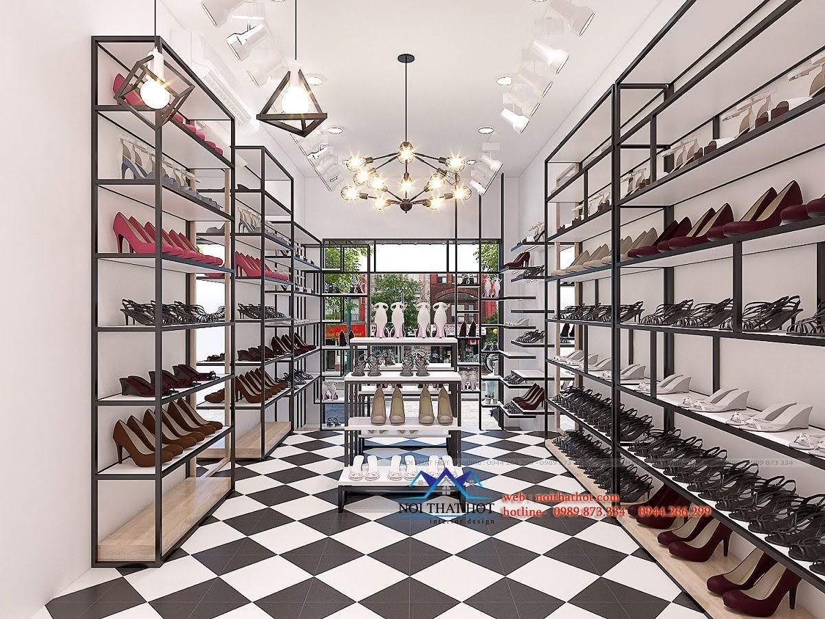 thiết kế shop giày dép timon 7