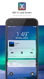 IOS11 Lock Screen - Phone X Locker style Screenshot