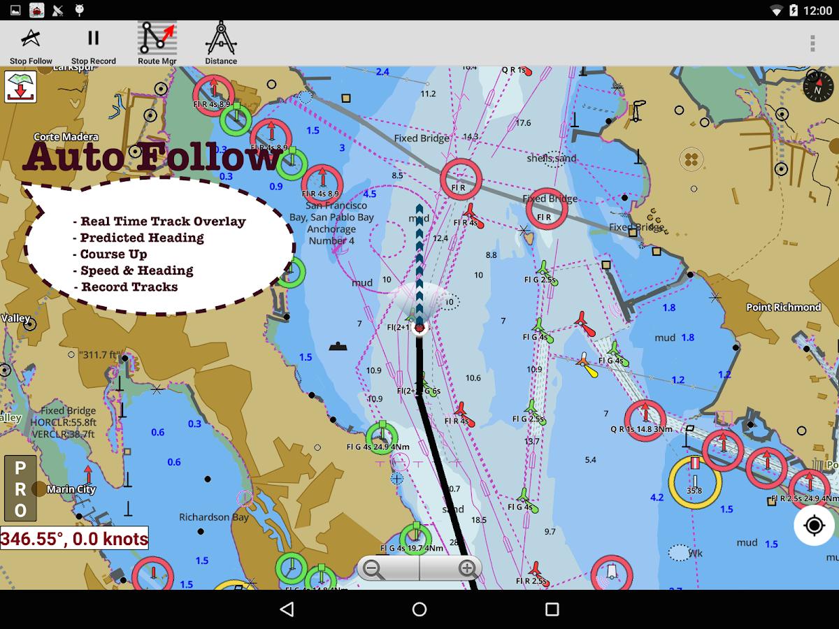 i boating marine charts u0026 lake fishing maps android apps on