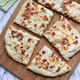 Loaded Mashed Potato Pizza