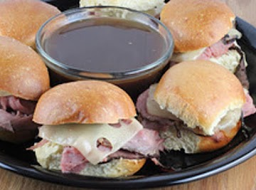French Dip Sliders Recipe