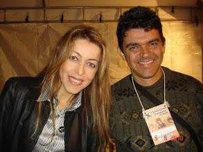 Photo: Com a cantora ADRIANA no show da Paróquia Santíssima Trindade no Gama em 05/06/2010