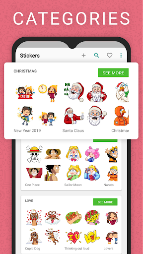 Stickers for new WAStickerApps 2.5.0 screenshots 1