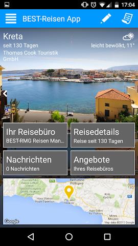 android BEST-Reisen App Screenshot 0