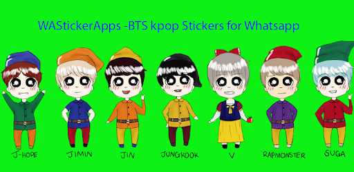 Wastickerapps Bts Kpop Stickers For Whatsapp Apps On Google Play