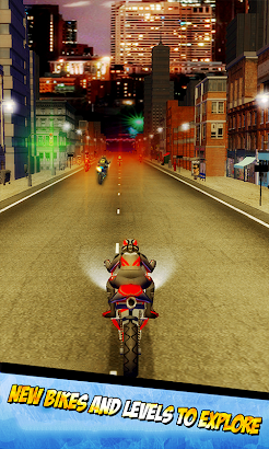 City Traffic Bike Racing- screenshot thumbnail