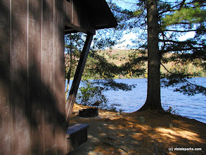 Photo: Lean to on Ricker Pond with a waterfront site