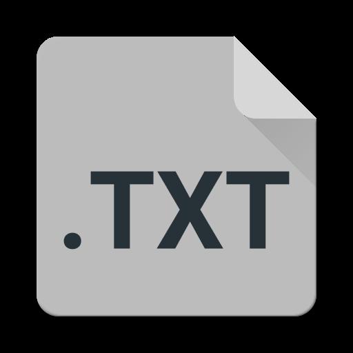 TXT Editor (All Text Files)