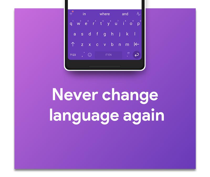 Hydrogen Keyboard Chrooma - Swipe, Fast, Typing Screenshot 3