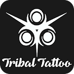 Tribal Tattoo Design Icon