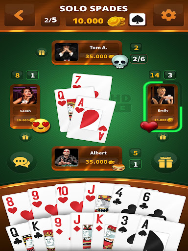 Spades -Batak HD Online filehippodl screenshot 5