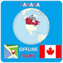 Canada Offline Maps icon
